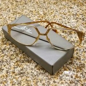 CAZAL | RARE Gold Frame Eyeglasses 238